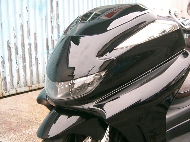 グランドマジェスティー用(SG15J):TOPMOST製 フロント フェイスマスク