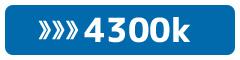 4300k