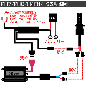 PH7/PH8/H4R1配線図